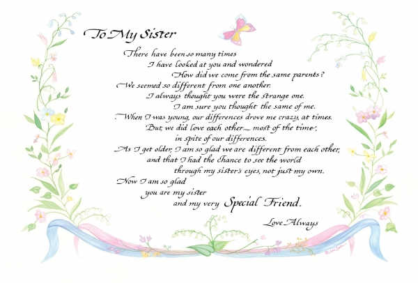 to-my-sister-original
